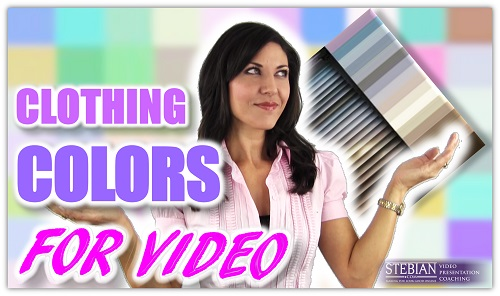 Clothing Colors for Video Stebian.com Video Presentation Coaching with Bianca Te Rito 500a