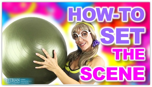 How to Set the Scene STEBIAN.com Video Presentation Coaching with Bianca Te Rito 1