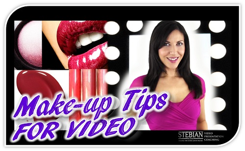 Make up Tips for Appearing on Video STEBIAN Video Presentation Coaching with Bianca Te Rito 500a