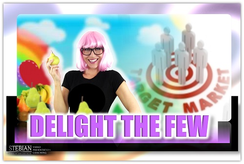 Delight the Few to Attract the Many STEBIAN.com Video Presentation Coaching with Bianca Te Rito