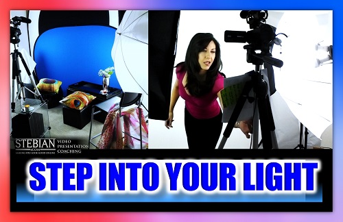 Studio Lighting Tips for your Video Presentations STEBIAN Video Presentation Coaching with Bianca Te Rito