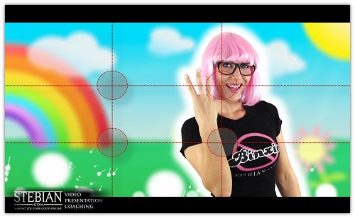 STEBIAN.com Video presentation coaching The Rule of Thirds with Bianca Te Rito_Binxie Demo