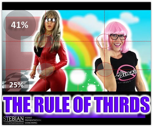 STEBIAN.com Video presentation coaching The Rule of Thirds with Bianca Te Rito_Promo