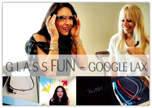 Getting Fitted with Google Glass with Bianca Te Rito STEBIAN.com Video Presentation Coaching 4