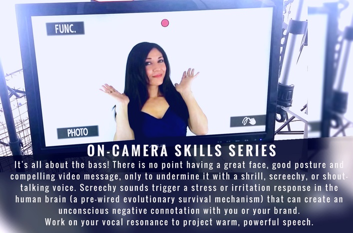 How to Sound Great on Video oncamera skills with Bianca Te Rito